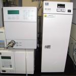 HPLC メタルフリータイプになります。糖、導電性の生体分子などの選択検出ができます。