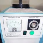 SEMの試料調製用蒸着装置です。