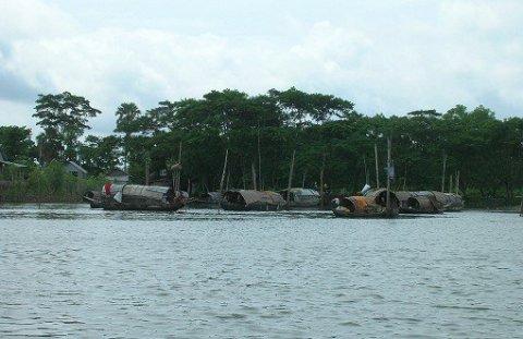 安藤和雄 2008: ブラマプトラ川