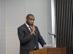 追悼のメッセージ Didier RAMAZANI BIN KITHIMA(駐日コンゴ民主共和国大使館・参事)