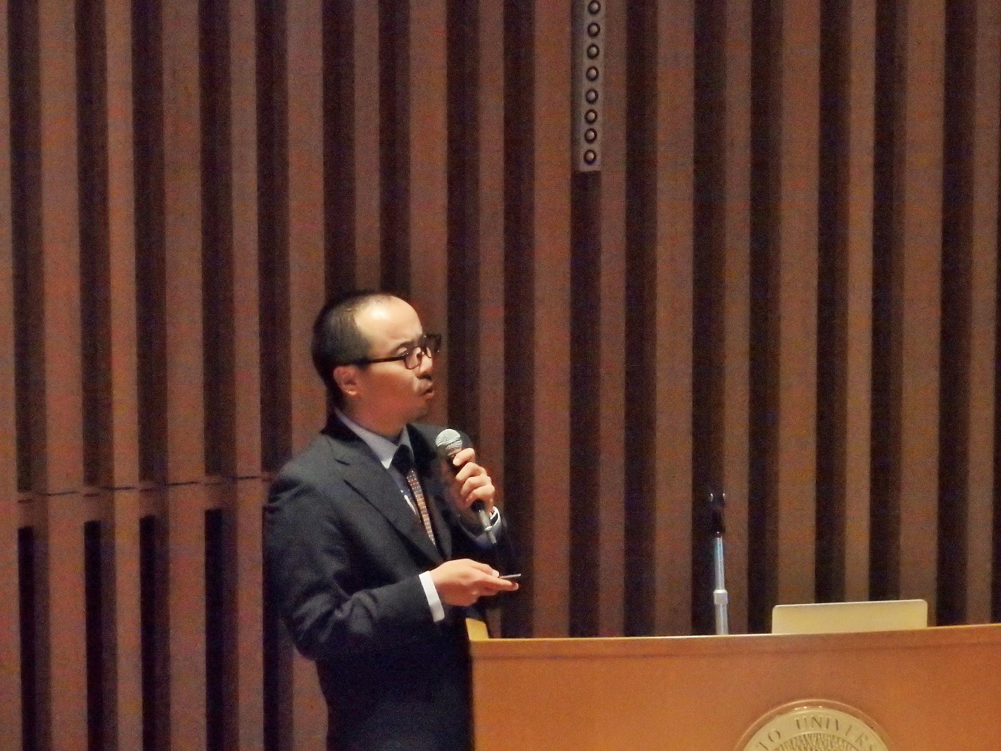 「酵素進化からみた多様な植物特化代謝」 サントリーグローバルイノベーションセンター主任研究員 小埜栄一郎氏