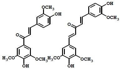 Fig. 3 広葉樹リグニンの酸化分解物に含まれる長波長UV吸収新規化合物