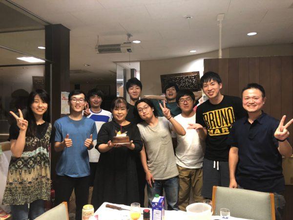 事務員さんの誕生日会